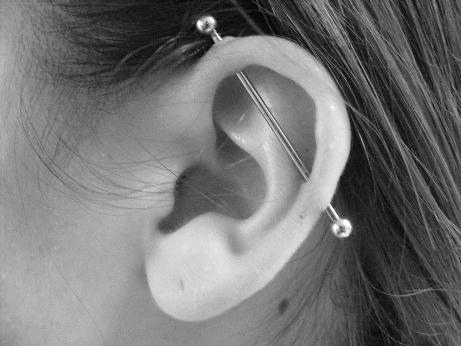 Bar piercing