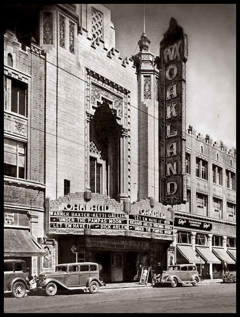 California Images Oakland S Fox Theater Historic Jewel