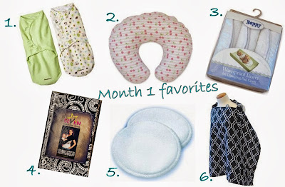 monthly favorites - 1 month