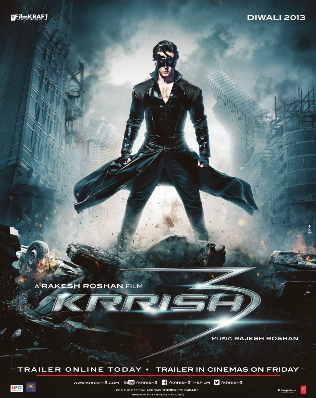Watch Krrish 3 Tamil Dubbed Movie OnlineDVD  RAJTAMIL
