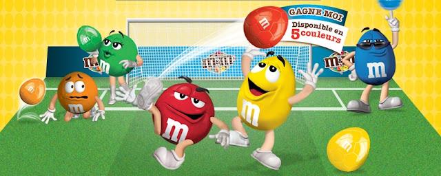 Jeu concours M&M's: 2275  M-Ball à gagner