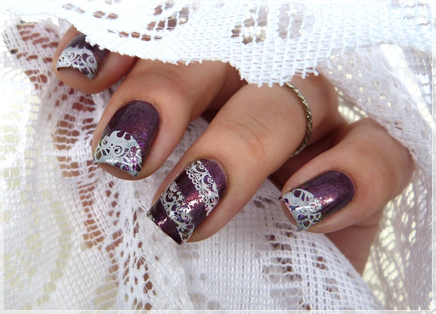 Moyou stamping Naildesign