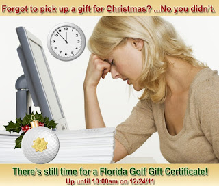 Last Minute Gift Certificate Marketing