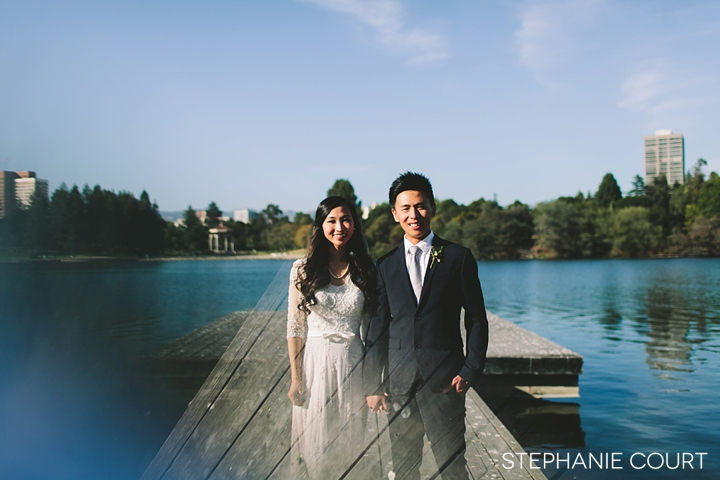 wedding photography at the mormon temple in oakland