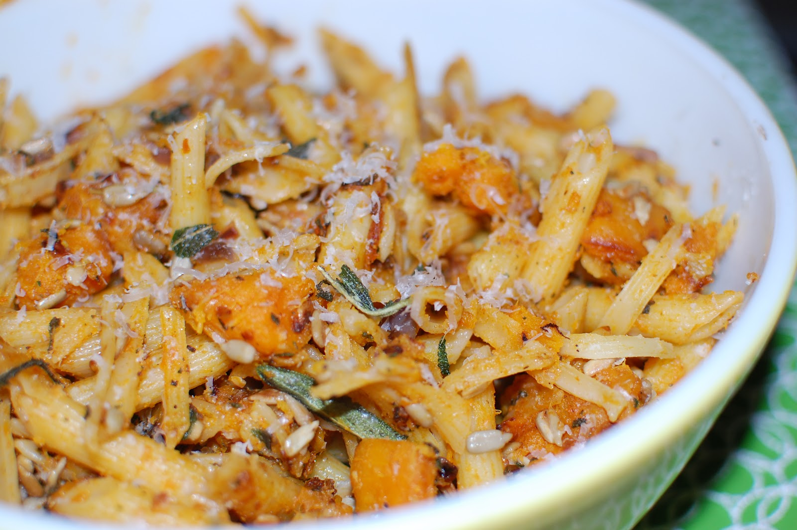 Section 89: Pasta Pan-Fried with Butternut Squash and Fried Sage