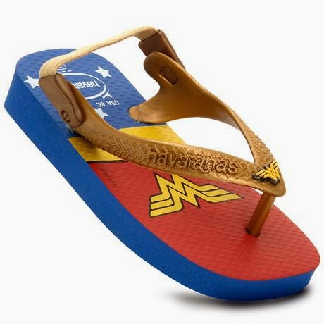 CHINELO INFANTIL MASCULINO HEROIS BABY HAVAIANAS por R$27,99