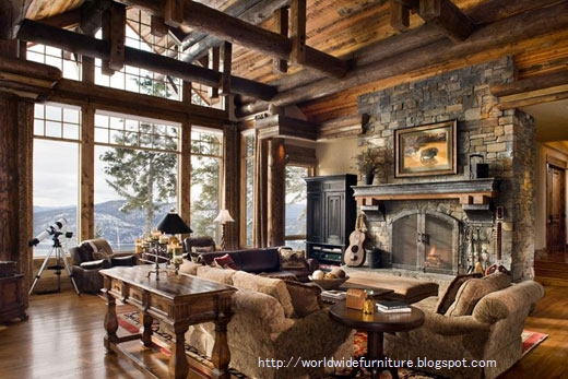 Country home interior design furniture gallery for Interior design living room rustic