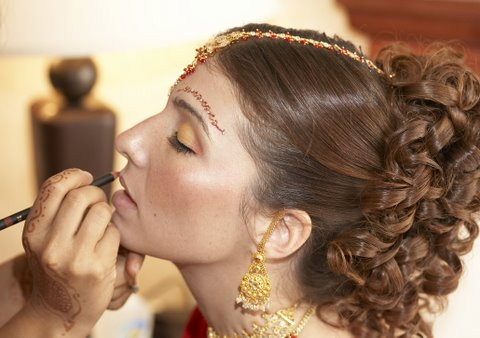 wedding hairdos. Indian Bridal Hairstyles 2011