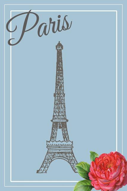 Gratis Printable Paris - Jalien Cozy Living