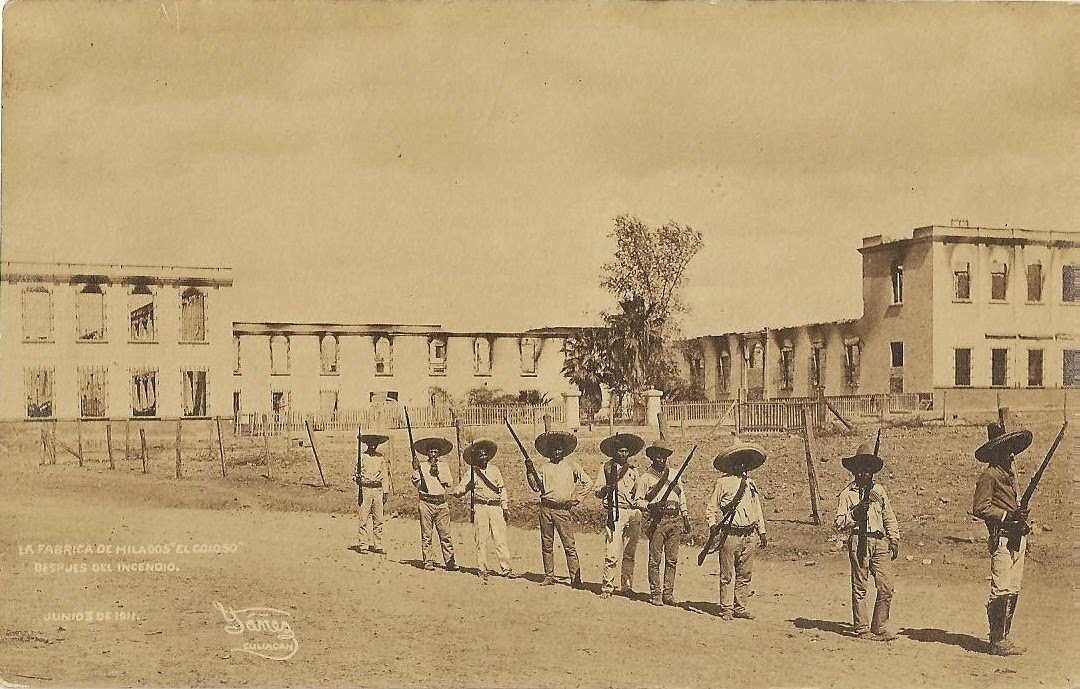 Image result for imágenes de Fábrica de Hilados y Tejidos El Coloso, en Cuiacán, sinaloa