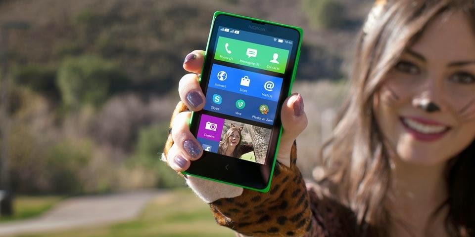 Nokia X Android Pertama Nokia Harga Rp 999 Ribu