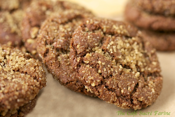 Crinkly Crackly Toasted Pecan Ginger Cookies - these quickly become a favorite cookie with everyone who tries them!