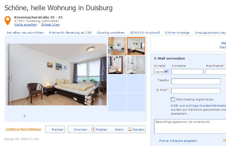 wohnungsbetrugsinformationen informations about rental scam seite 223. Black Bedroom Furniture Sets. Home Design Ideas
