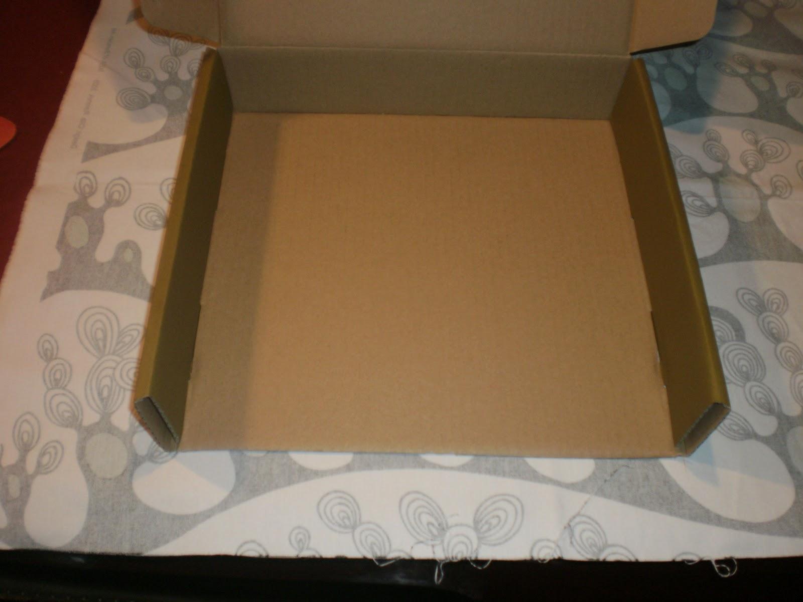 Trapeando hilos y trapos forrar una caja con tela - Forrar cajas de carton con telas ...