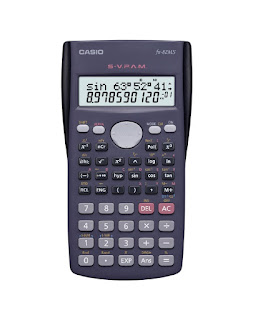 Amazon : Buy Casio FX-82MS 2-Line Display Scientific Calculator at Rs. 449 with Shipping