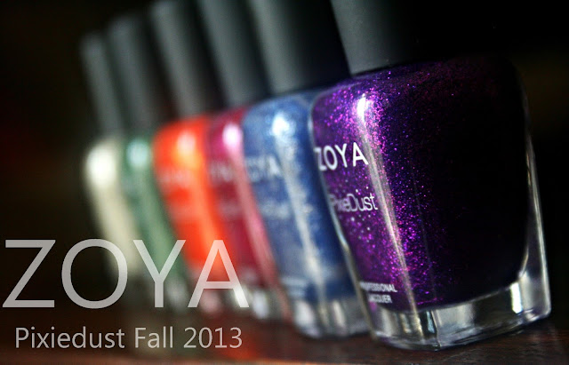 Zoya Fall 2013 PixieDust Review, Photos & Swatches