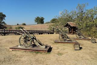 Citadel Alba Carolina-cannons of artillery