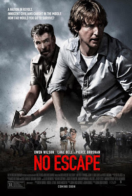 Poster Of No Escape 2015 Full Movie Download 300MB In Hindi English Dual Audio 480P ESubs Compressed Small Size Pc Movie