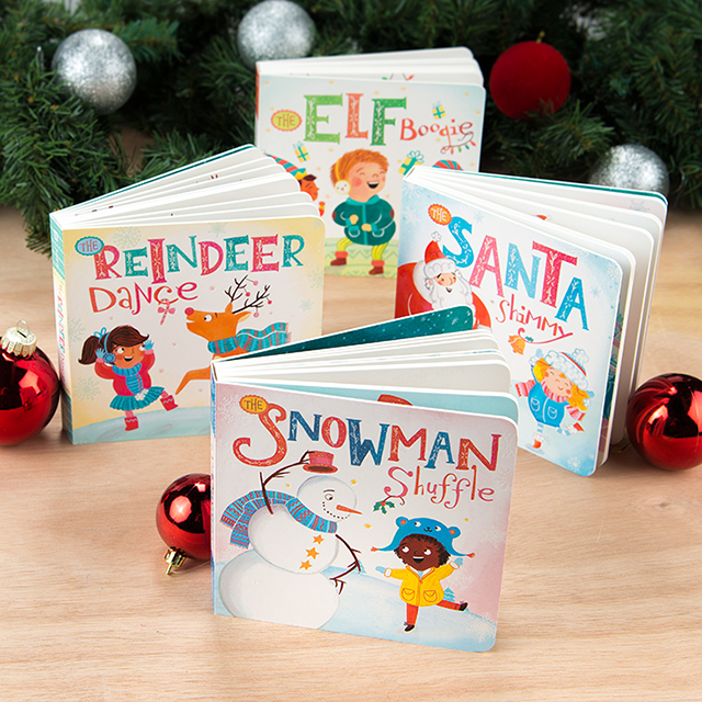 Cute Christmas books for baby