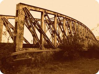 Ponte do Rio Ibirapuitã, em Alegrete