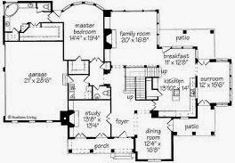 Farmhouse Floor Plans Home Planshome Design