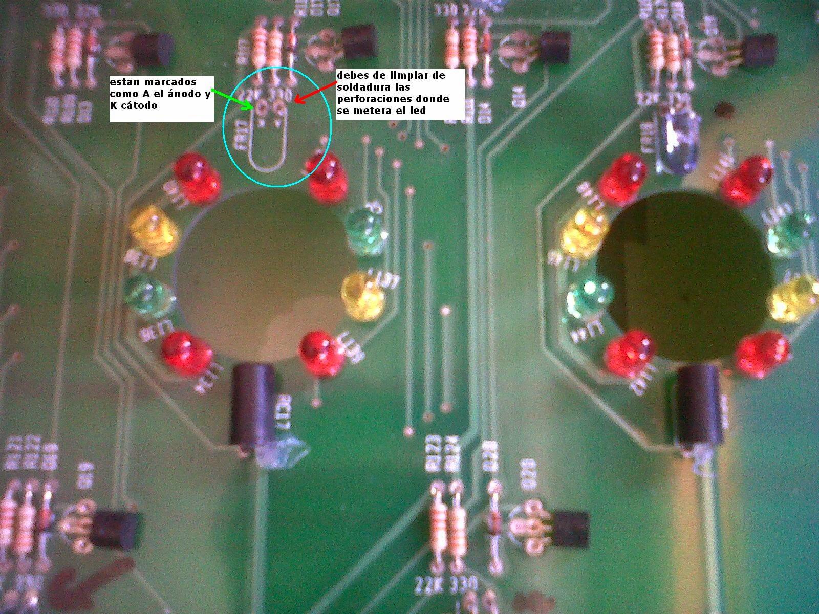 VyR Entretenimiento: Cambio de sensores en la tableta de agujeros ...