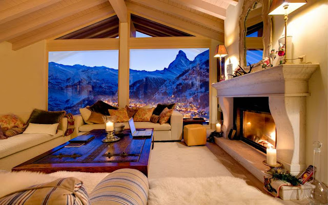 World most beautiful living space