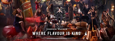 UK Magicians Promoting Johnnie Walker Red Label
