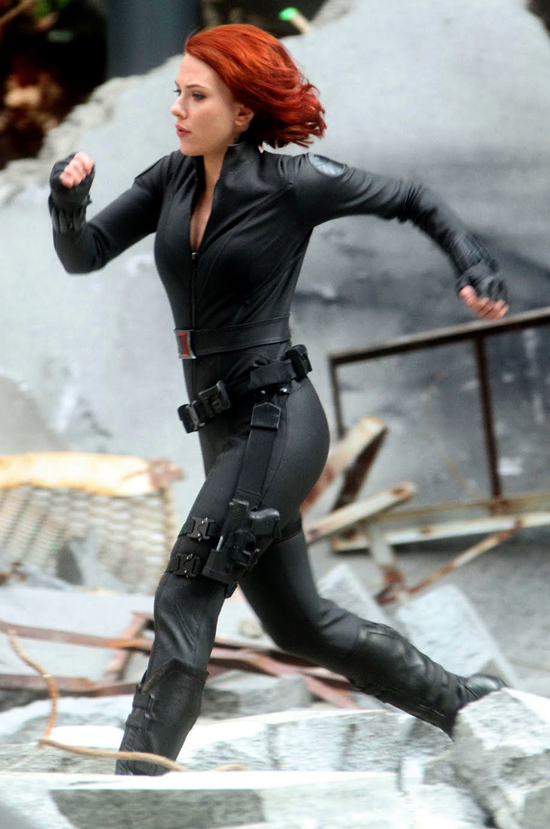 "TORONTO CAT WOMAN: 'Black Widow' In ""Avengers: Age Of Ultron"""