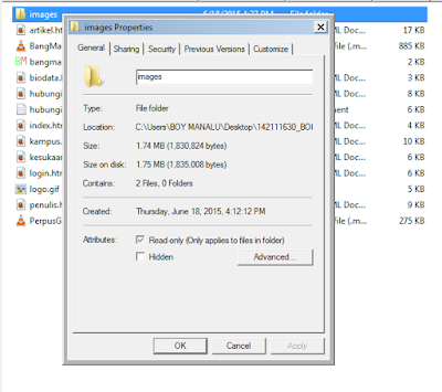 Cara Sembunyikan Folder di Windows 7