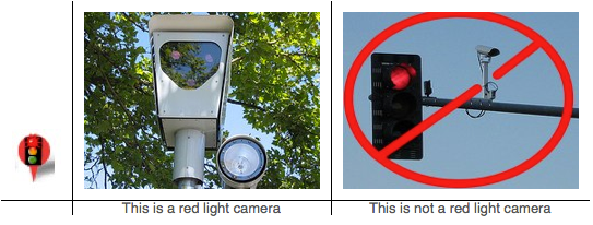 ... And Are Pointing In The Direction Of Oncoming Traffic Or Sometimes In  The Rear. Here Is An Example Showing A Red Light Camera Vs A Traffic Camera.