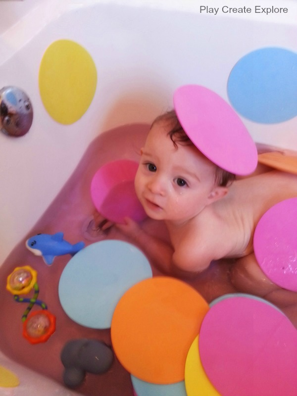 this bath was a hit with both boysand so totally simple - Colorant Bain