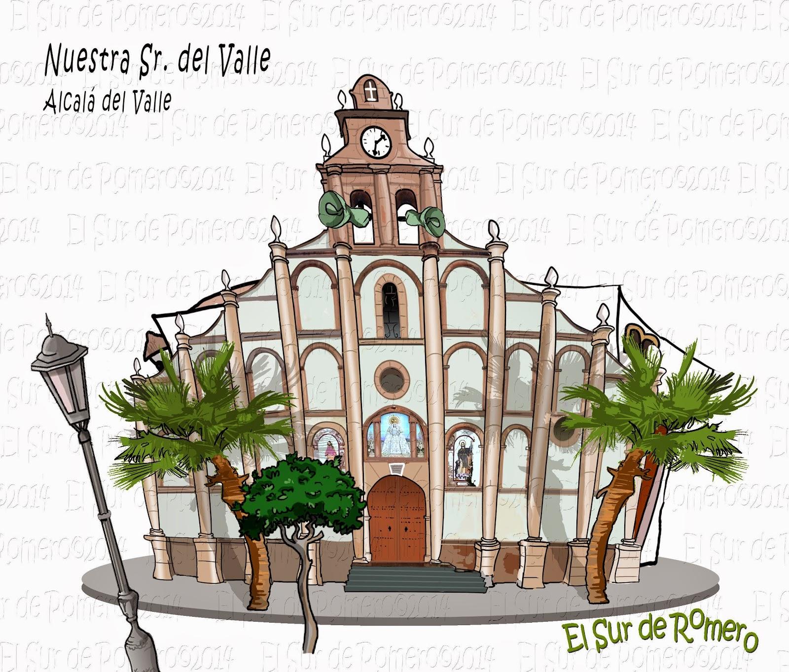 """<img src=""""Iglesia Mayor.jpg"""" alt=""""dibujos de Alcalá del Valle""""/>"""