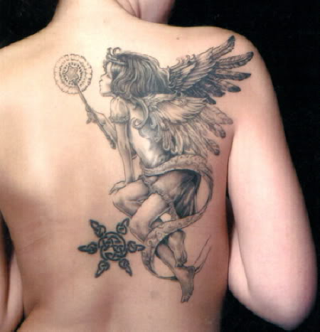 small guardian angel tattoos for women. sssssssss Angel Tattoos For Girls ssssssssss