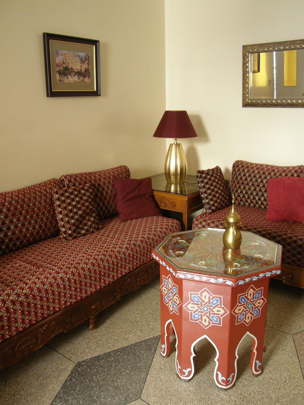 Nuestro sal n tradicional decoraci n for Mobiliario marroqui