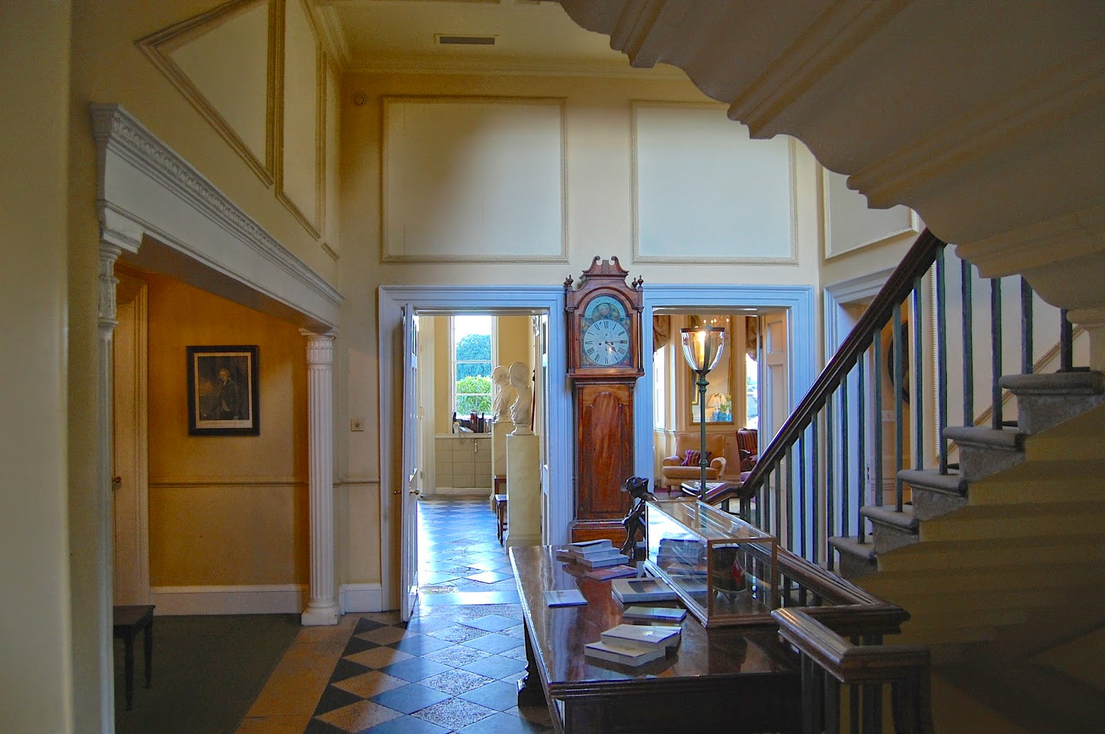 Interior of the Royal Crescent Hotel
