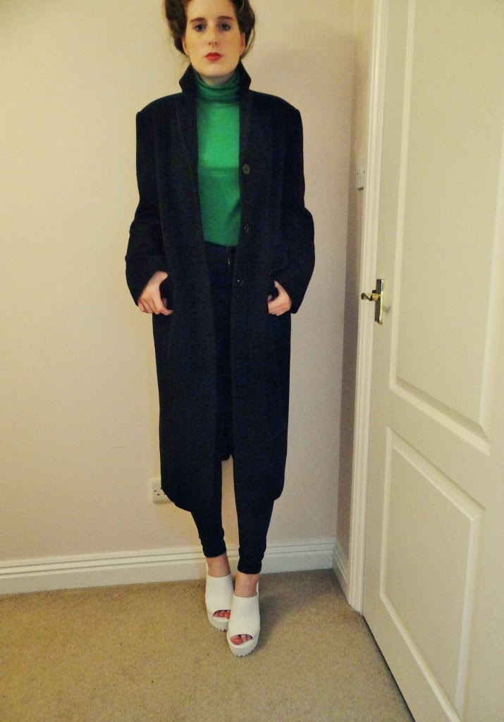 winter fashion duster coat