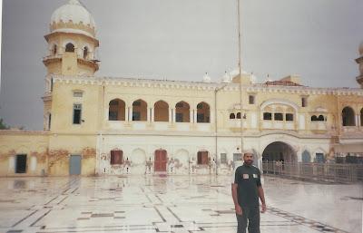 Ch. Muhammad Mansha Gujjar at Guru-duwara
