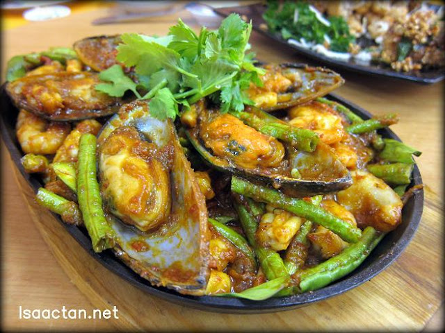 Sizzling Seafood Platter - RM20