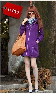 model jaket korea wanita