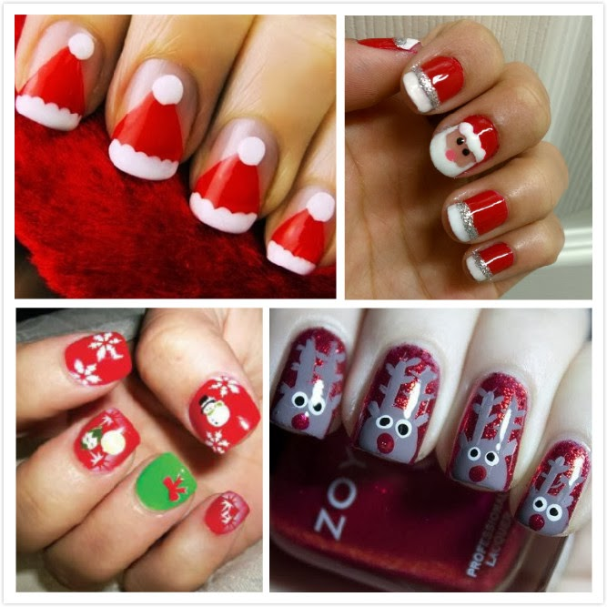 Christmas 2013 Nail Art: Art Nail And Trends: Christmas Nail Art