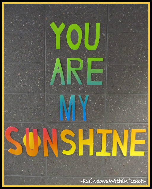 photo of: You are my Sunshine -- You are my Sonshine