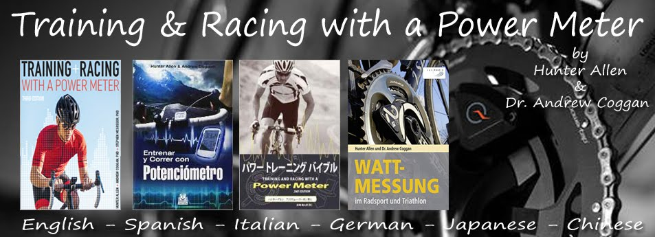 Training and Racing With a Power Meter Journal