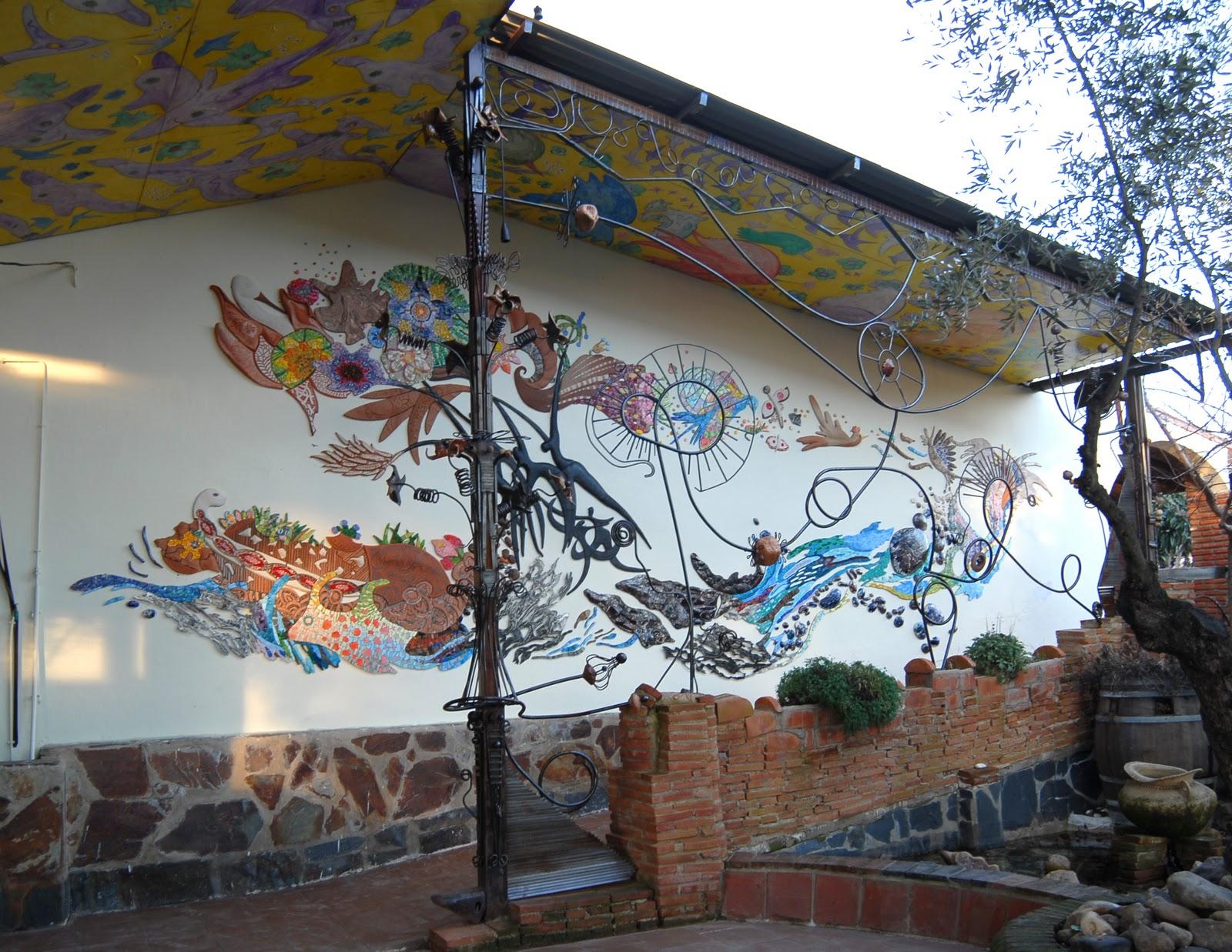 Alejandro martin j murales cer mica y mosaico - Murales de ceramica ...