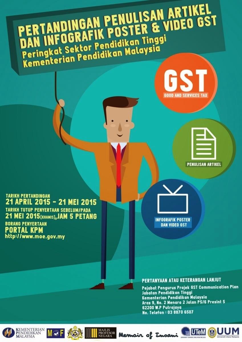 GST dalam Pendidikan Malaysia