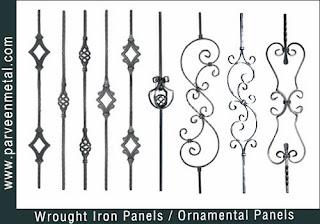 Ornamental iron panels and wrough iron panels hardware for gates parts and fences manufacturers exporters in  india, usa, uk, America, UAE Dubai, australia, italy