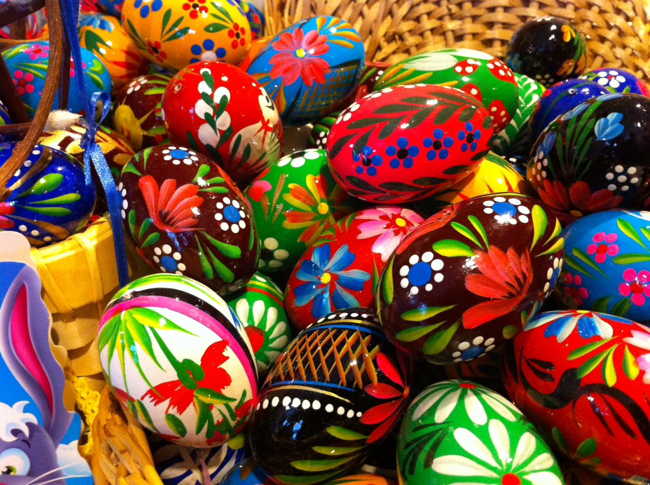 Pin Polish Easter Traditions Pisanki Eggs To Color on Pinterest