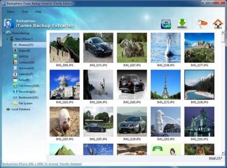 Download Backuptrans iTunes Backup Extractor v3.1.24 Portable