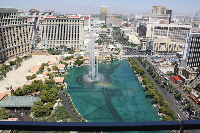 Cosmopolitan Las Vegas Balcony