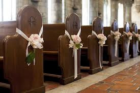 Wedding Pew Decoration Pictures